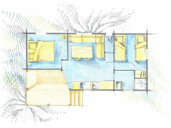Cottage Omaha plan
