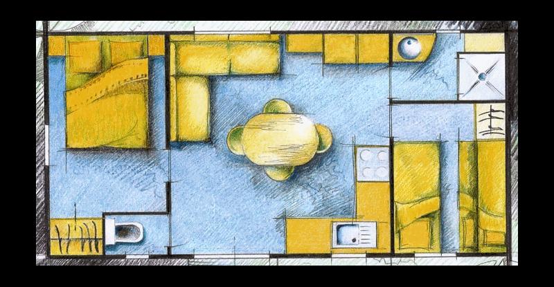 Cottage Sword plan intérieur
