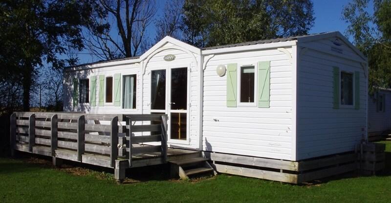 Cottage family mobile home normandie plage du débarquement