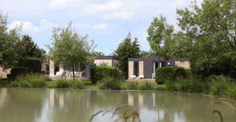 Cottage luxe vue sur nos étangs de pêche