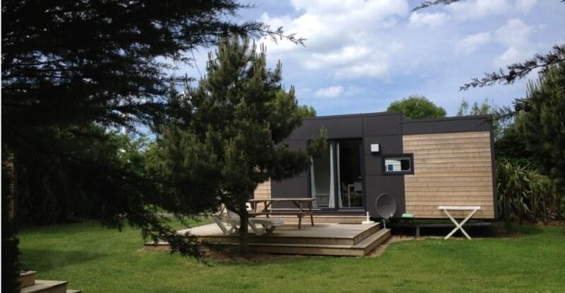 Cottage luxe vue extérieur