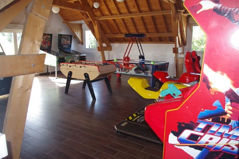 Salle de jeux du camping Port'land à Port en bessin
