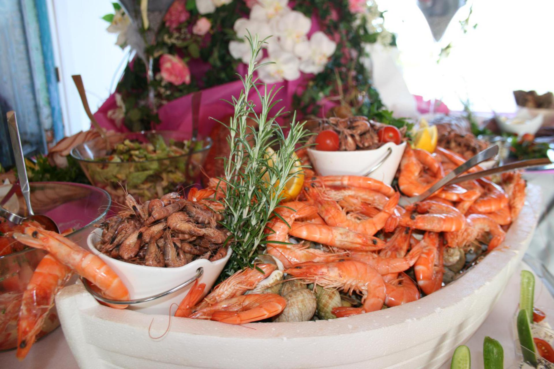 Buffet camping Port'land pour mariage