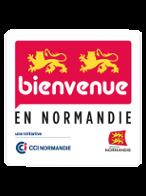 logo Bienvenue en Normandie