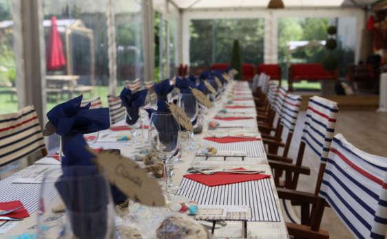 dressage de table au camping port'land