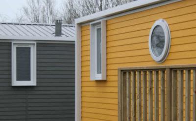 mobile home omaha village piéton au camping