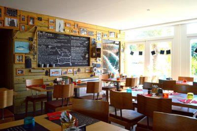 Restaurant du camping vue intérieur
